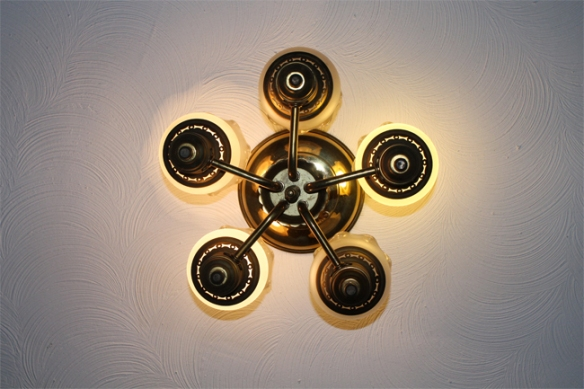 Ceiling Light and Ceiling Texture