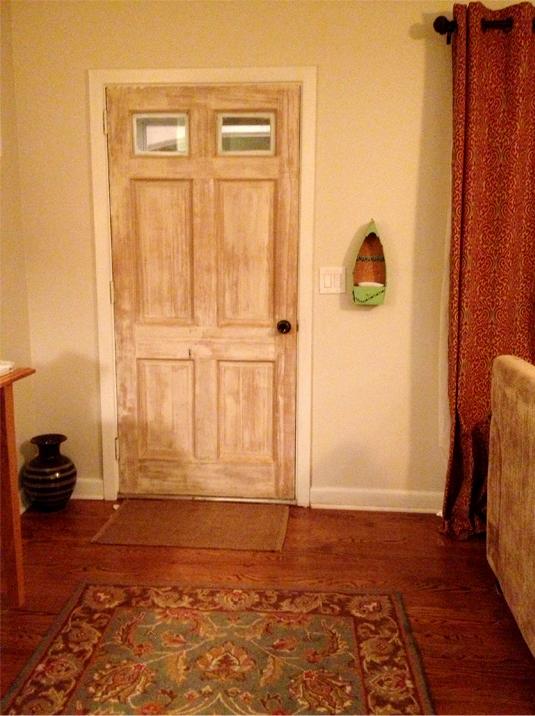 back of Front Door