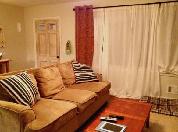 Living Room to door