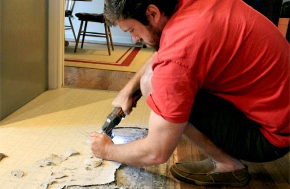 Floor Scraping