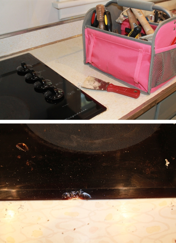 Cooktop Removal