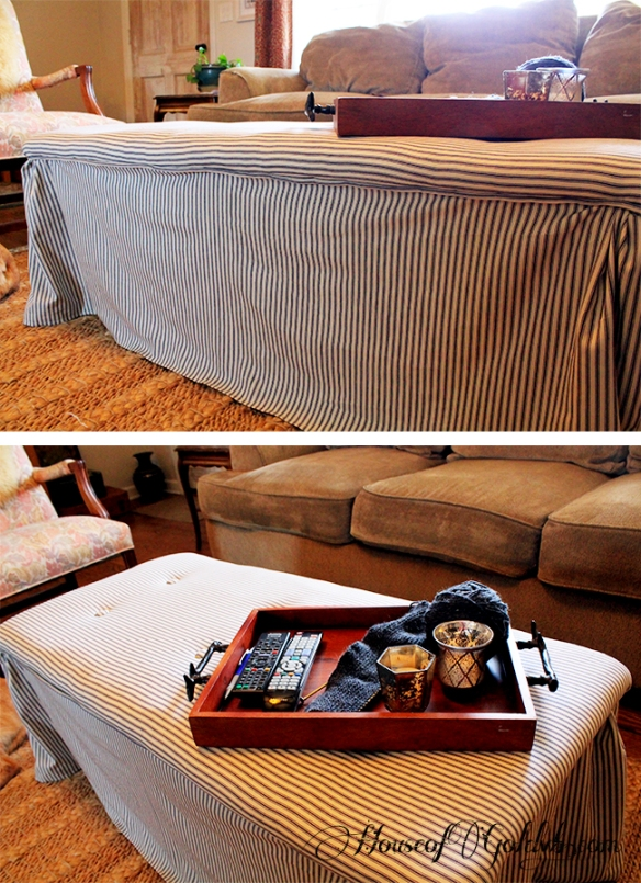 Tufted Coffee Table Bench_HouseofGold