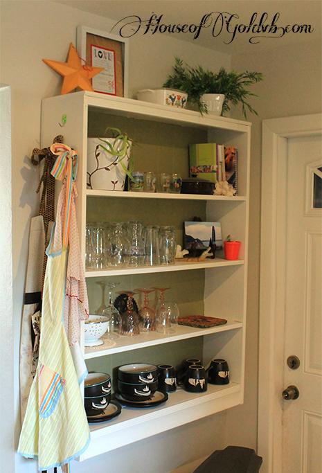 Shelves Before_HouseofGold