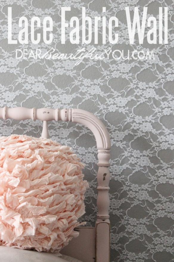 Lace Wall_Dear Beautiful You