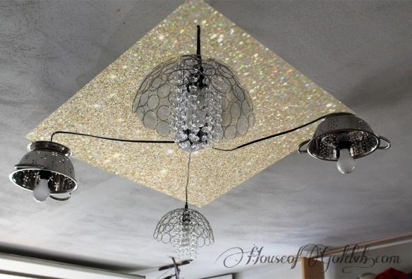 Gold Glitter Ceiling_HouseofGold