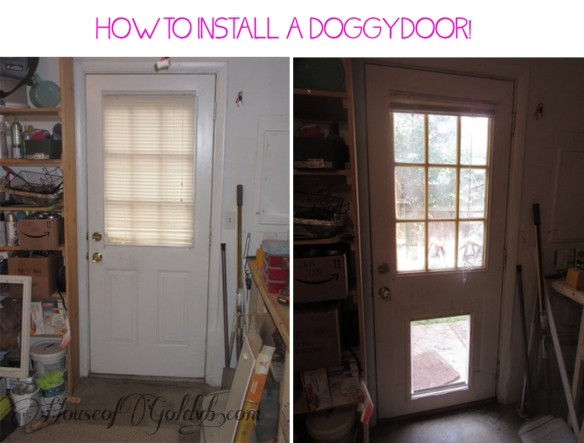 How to Install a Doggy Door_HouseofGold