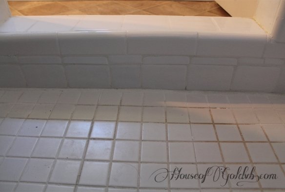 Shower Step Grouted_HouseofGold