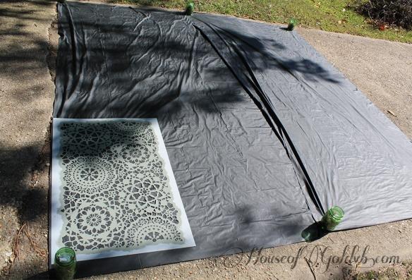 Tablecloth Stencil_HouseofGold